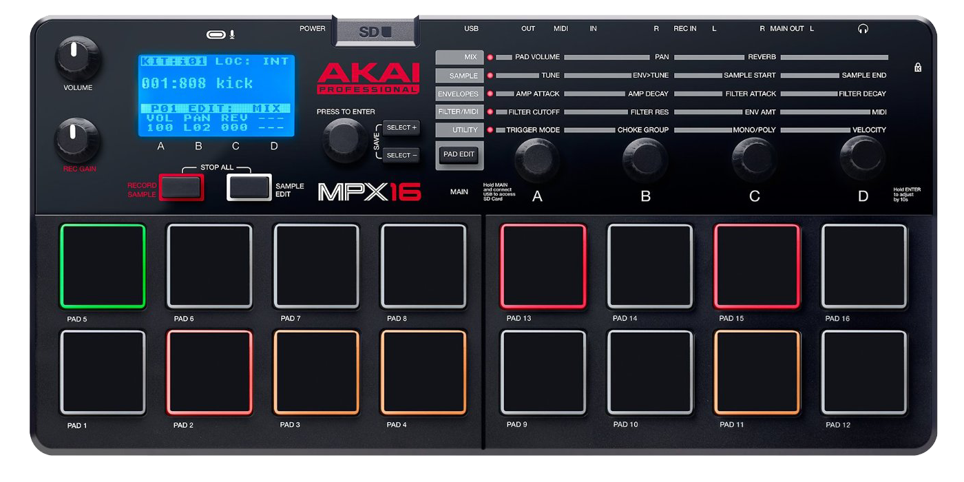 akai professional akai professional mpx16 frequently asked questions