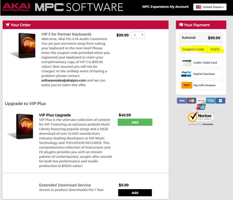 VIP 3 0 - How to Redeem and Download VIP 3 0 | Akai Professional